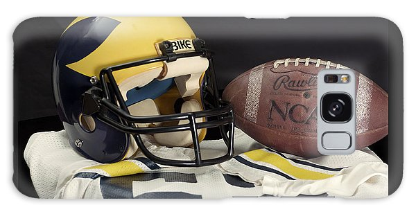 Wolverine Helmet With Jersey And Football Galaxy Case