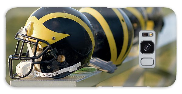 Wolverine Helmets On A Bench Galaxy Case