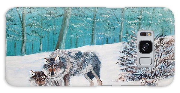 Wolves In The Wild Galaxy Case