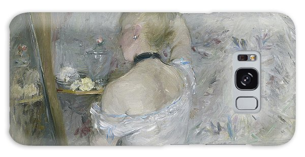 Earring Galaxy Case - Woman At Her Toilette by Berthe Morisot