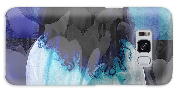 Woman At The Piano Galaxy Case