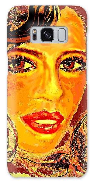 Woman Galaxy Case by Desline Vitto