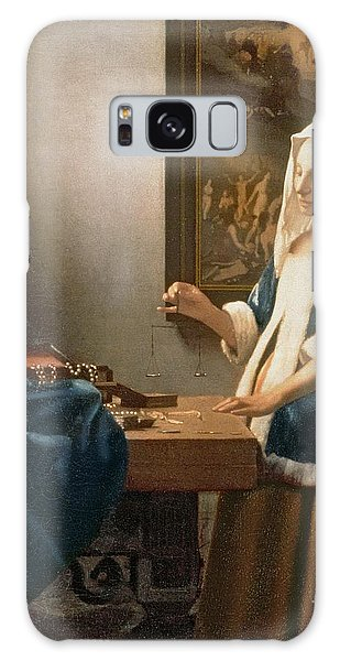 Vermeer Galaxy Case - Woman Holding A Balance by Jan Vermeer