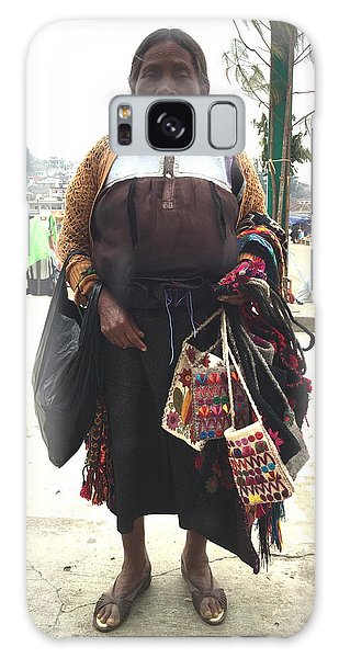 Woman In Chiapas. Galaxy Case