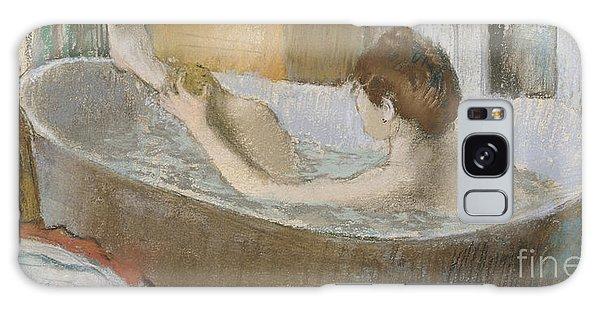 Female Galaxy Case - Woman In Her Bath by Edgar Degas
