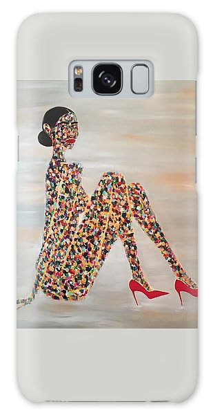 Woman Of Color Galaxy Case