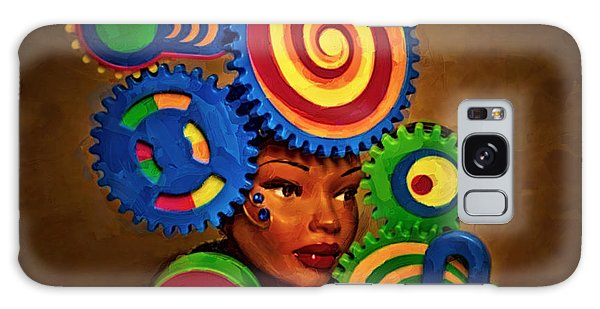 Woman Of Colors  Galaxy Case by Jeff  Gettis