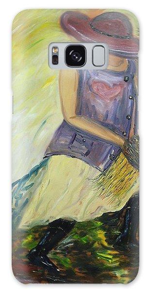 Woman Of Wheat Galaxy Case