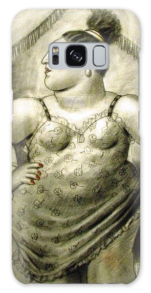 woman performer Botero Galaxy Case