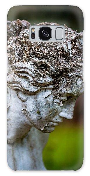 Woman Statue Head Galaxy Case