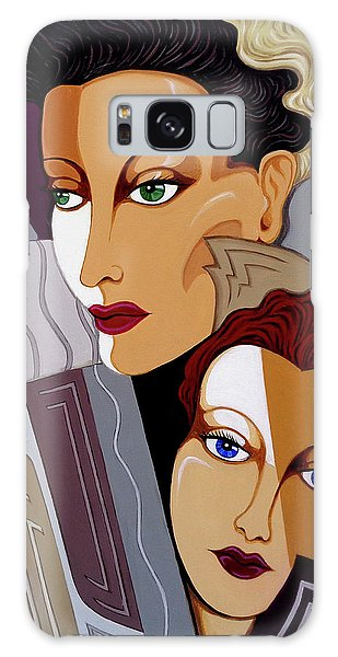 Woman Times Three Galaxy Case