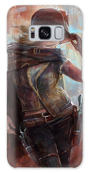Woman With No Name Galaxy Case
