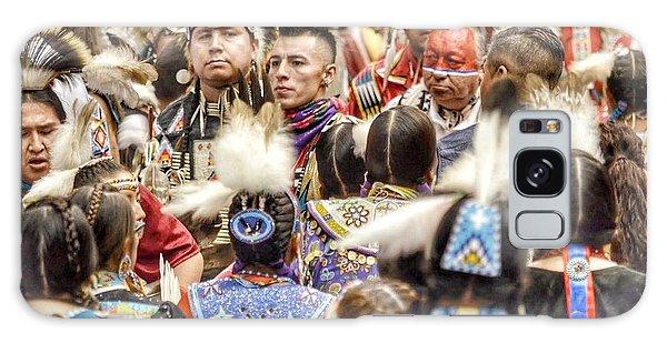 Women And Men Meet Galaxy Case by Clarice Lakota