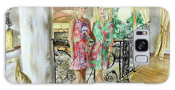 Women In Sunroom Galaxy Case