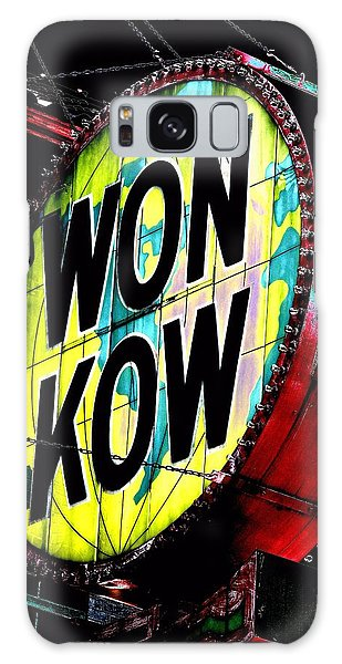Galaxy Case featuring the photograph Won Kow, Wow 3 by Marianne Dow