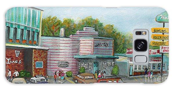 Center Galaxy Case - Wonderful Memories Of The Wal-lex by Rita Brown