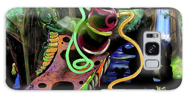 Galaxy Case featuring the painting Wonderland by eVol i