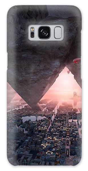wonders great pyrimaid of Giza Galaxy Case