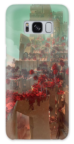 Wonders Hanging Garden Of Babylon Galaxy Case