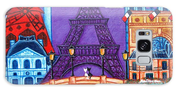 Wonders Of Paris Galaxy Case