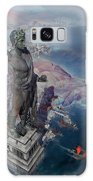 wonders the Colossus of Rhodes Galaxy Case