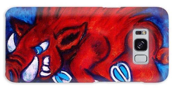 Woo Pig Galaxy Case by Laura  Grisham