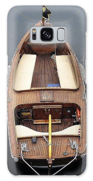 Wood Boat Nantucket Galaxy Case