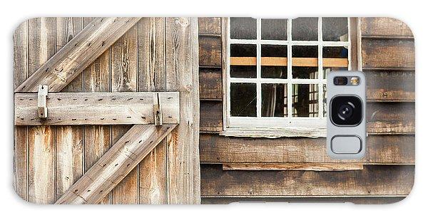 Wood Door And Window Galaxy Case