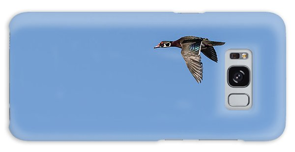 Wood Duck 2017-1 Galaxy Case by Thomas Young