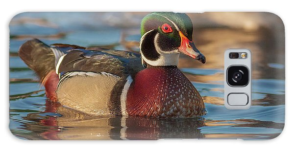 Wood Duck 4 Galaxy Case