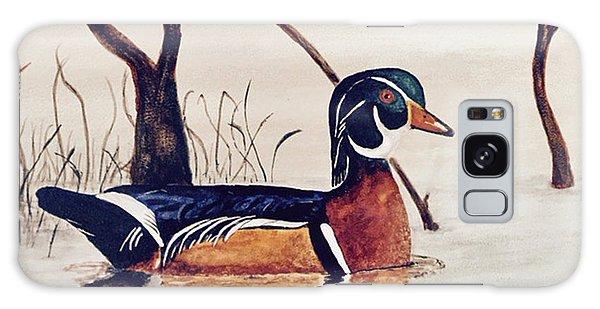 Wood Duck No. 2 Galaxy Case