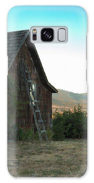 Wood House Galaxy Case