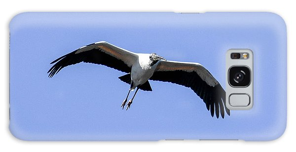 Wood Stork Galaxy Case