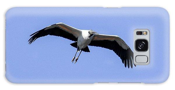 Wood Stork Galaxy Case by Gary Wightman