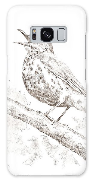 Wood Thrush Galaxy Case