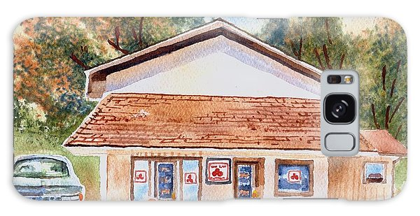 Woodcock Insurance In Watercolor  W406 Galaxy Case