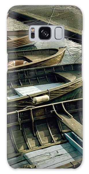 Wooden Boats Galaxy Case