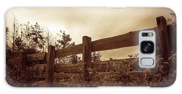 Wooden Fence Galaxy Case