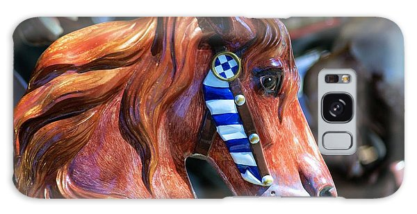 Wooden Horse Galaxy Case by John S