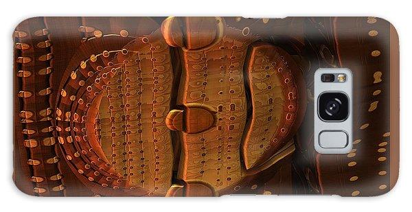 Wooden Lock Galaxy Case