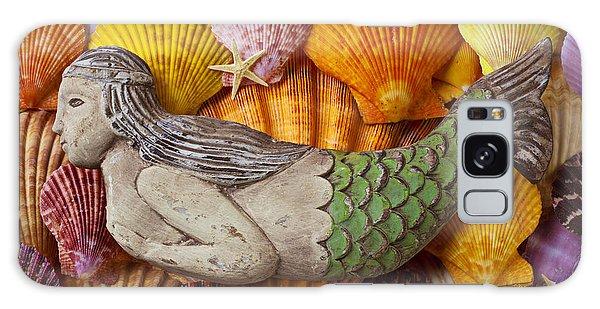Wooden Mermaid Galaxy Case by Garry Gay