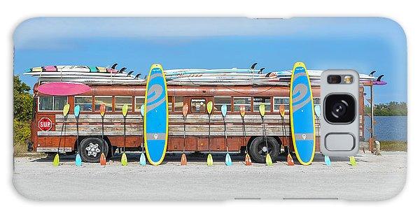 Bradenton Galaxy Case - Wooden Paddle Board Bus by Bill Cannon
