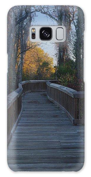 Wooden Path Galaxy Case