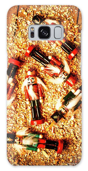 Six Galaxy Case - Wooden Toy Soldiers by Jorgo Photography - Wall Art Gallery