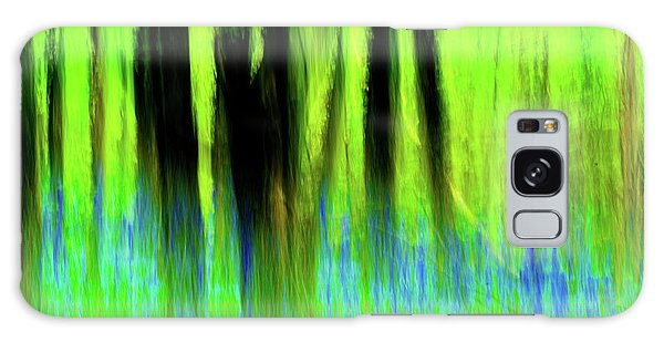 Woodland Abstract Vi Galaxy Case
