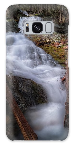 Galaxy Case featuring the photograph Woodland Falls 2017 by Bill Wakeley