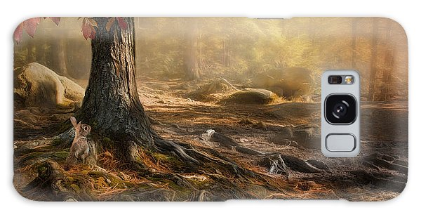 Woodland Mist Galaxy Case