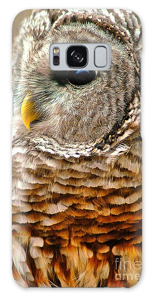 Woodland Owl Galaxy Case by Adam Olsen