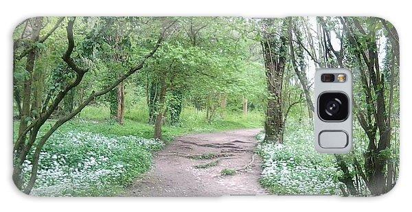 Woodland Path 1 Galaxy Case