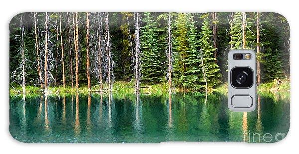 Woodland Reflections Galaxy Case